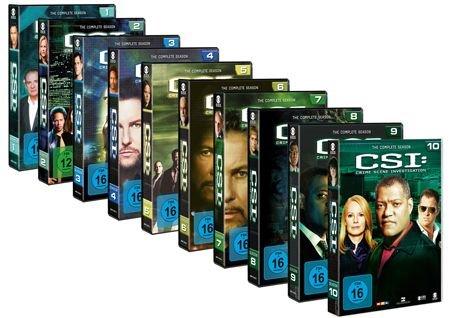 CSI: Den Tätern auf der Spur Staffeln 1 – 10 - Jetzt bei amazon.de bestellen