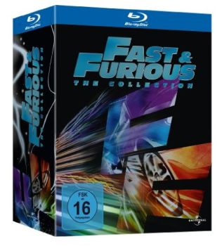 Fast & Furious - The Collection 1-5