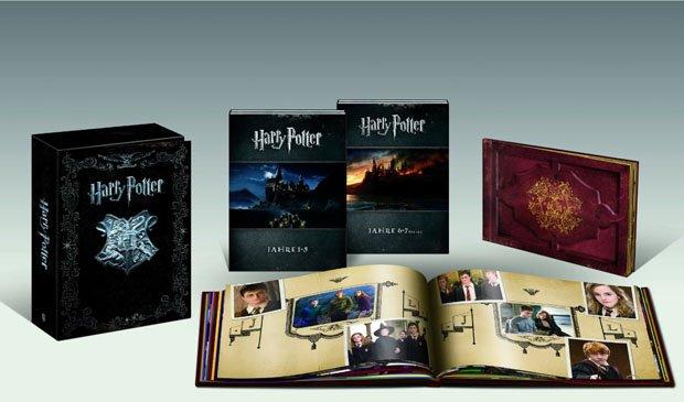 Harry Potter - Die komplette Collection Blu-ray Box mit Fotobuch