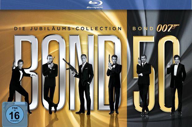 James Bond - Bond 50: Die Jubiläums-Collection - Jetzt bei amazon.de bestellen!