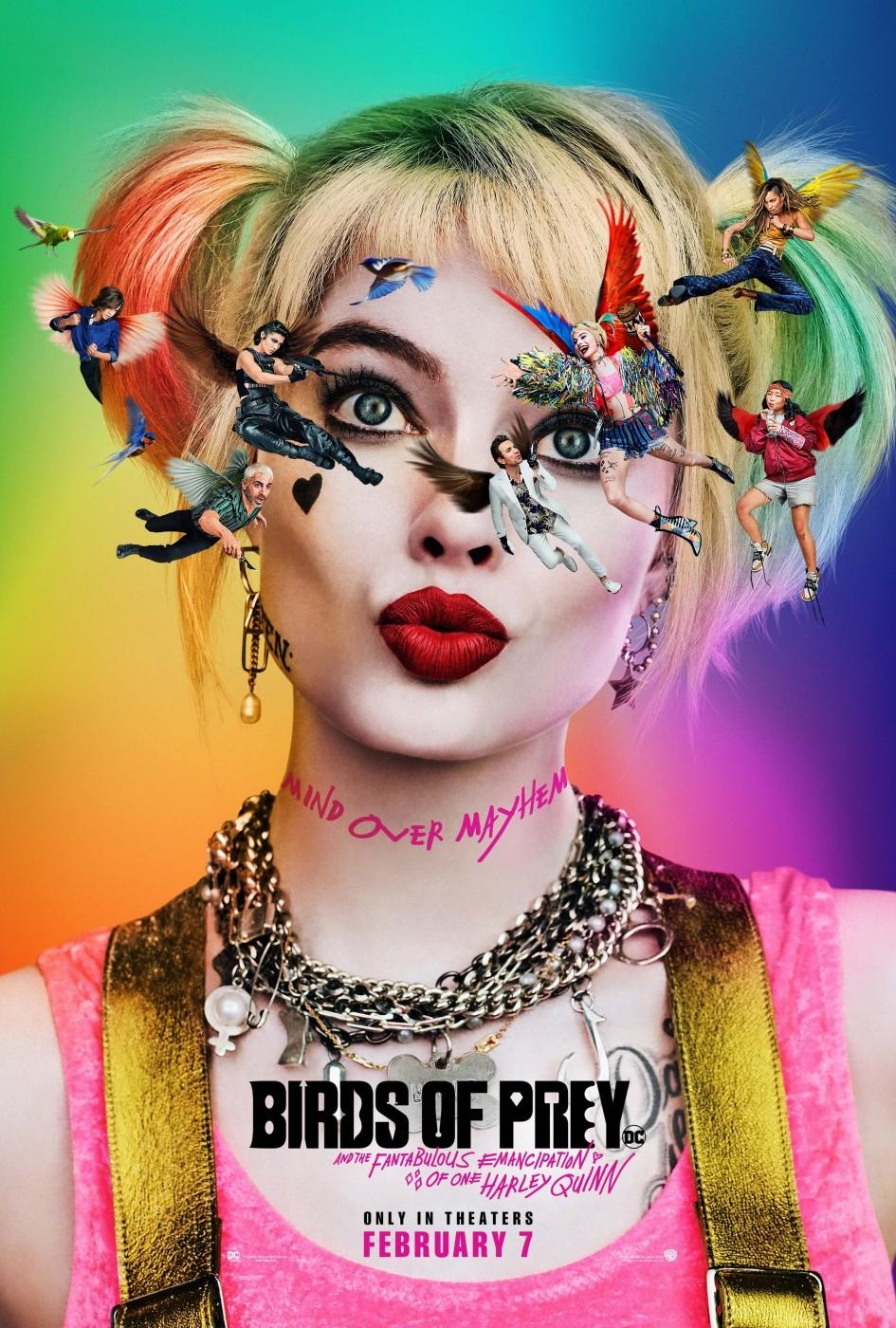 """Poster zu """"Birds of Prey"""""""