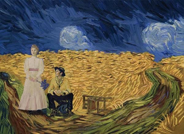 Loving Vincent 2017 Szenenbild