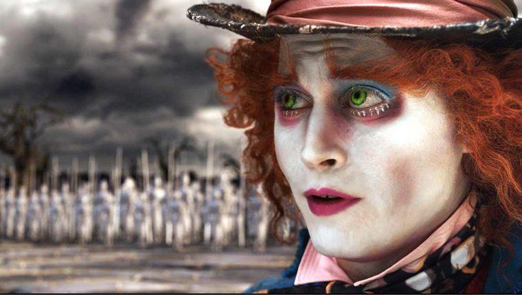 Johnny Depp in Alice im Wunderland (2010)