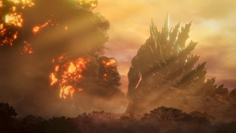 Godzilla: Planet der Monster Anime Filmkritik