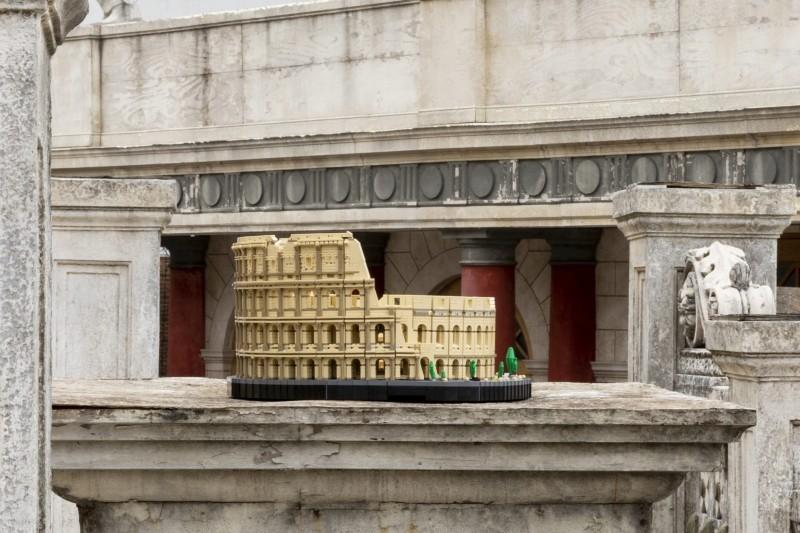 LEGO Kolosseum Kritik