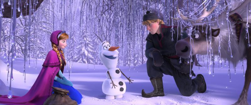 Frozen 2013 Szenenbild