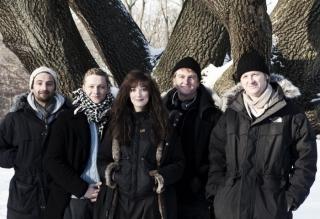 Produzent Marcus Welke, Matthias Schweighöfer, Alexandra Maria Lara, Detlev Buck, Produzent Henning Ferber