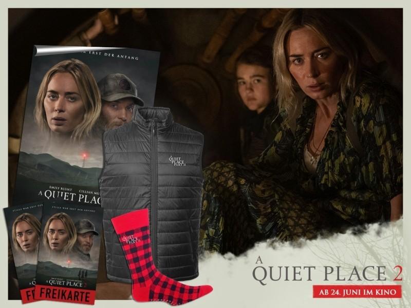 A Quiet Place 2 Gewinnspiel