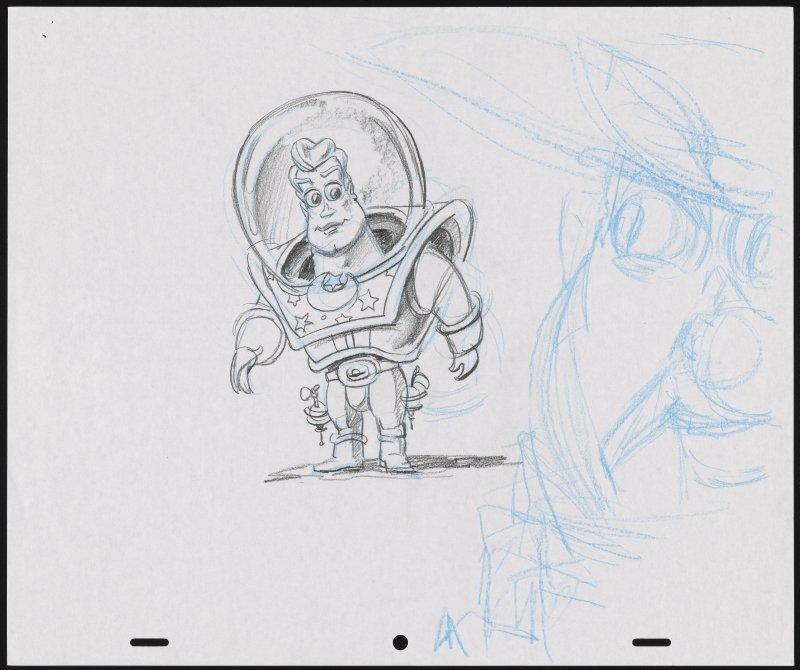 Buzz Lightyear Skize