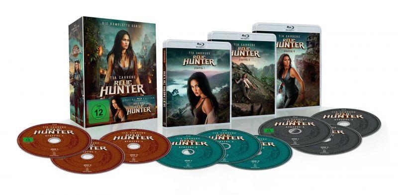 Relic Hunter Komplettbox