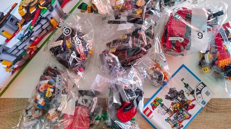LEGO Super Mario Bowsers Festung