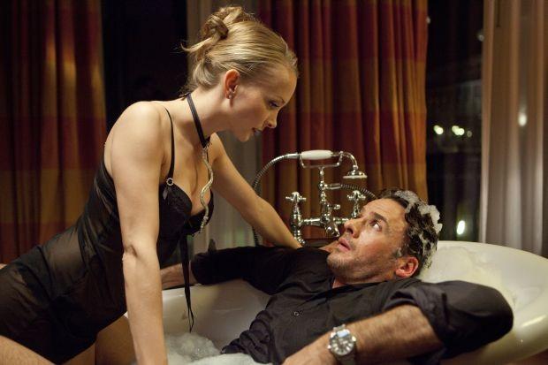 Janin Reinhardt (als Lydia Cremand) und Stephan Luca (als Tom)