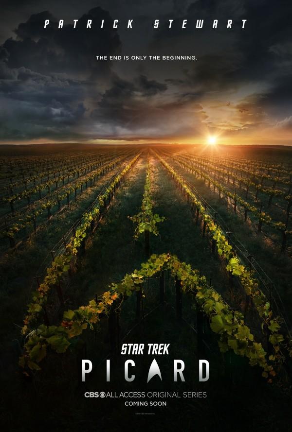 """Poster zu """"Star Trek: Picard"""""""