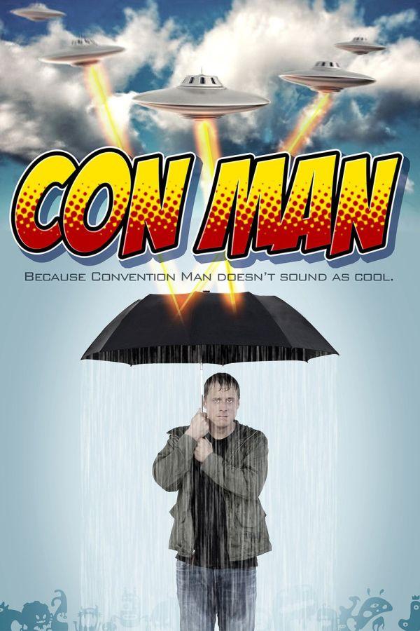 """Offizielles Poster zur Webserie """"Con Man"""""""