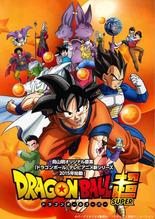 """Offizielles Poster zu """"Dragon Ball Super"""""""