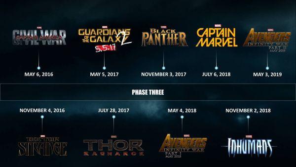 Marvel Kalender