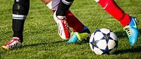 Fußballerverletzung