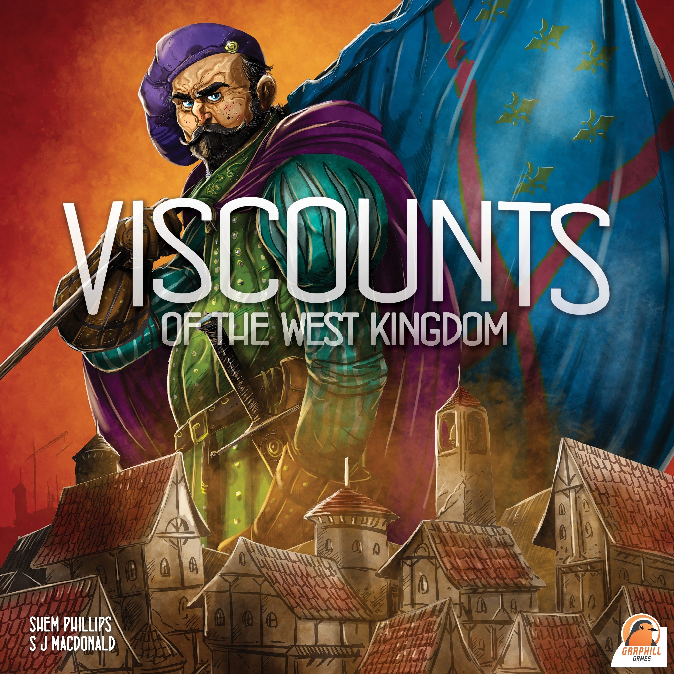 Viscounts of the West Kingdom 2020 Board Game