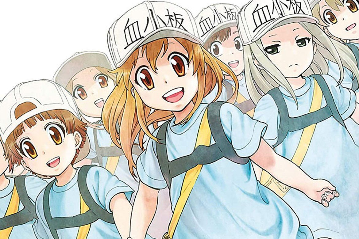 Cells at Work! Vol. 2 Anime