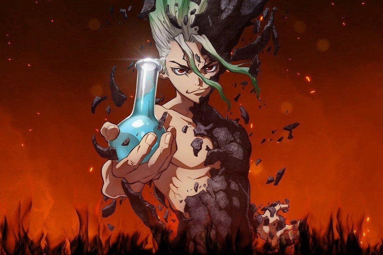 Dr Stone Anime Banner