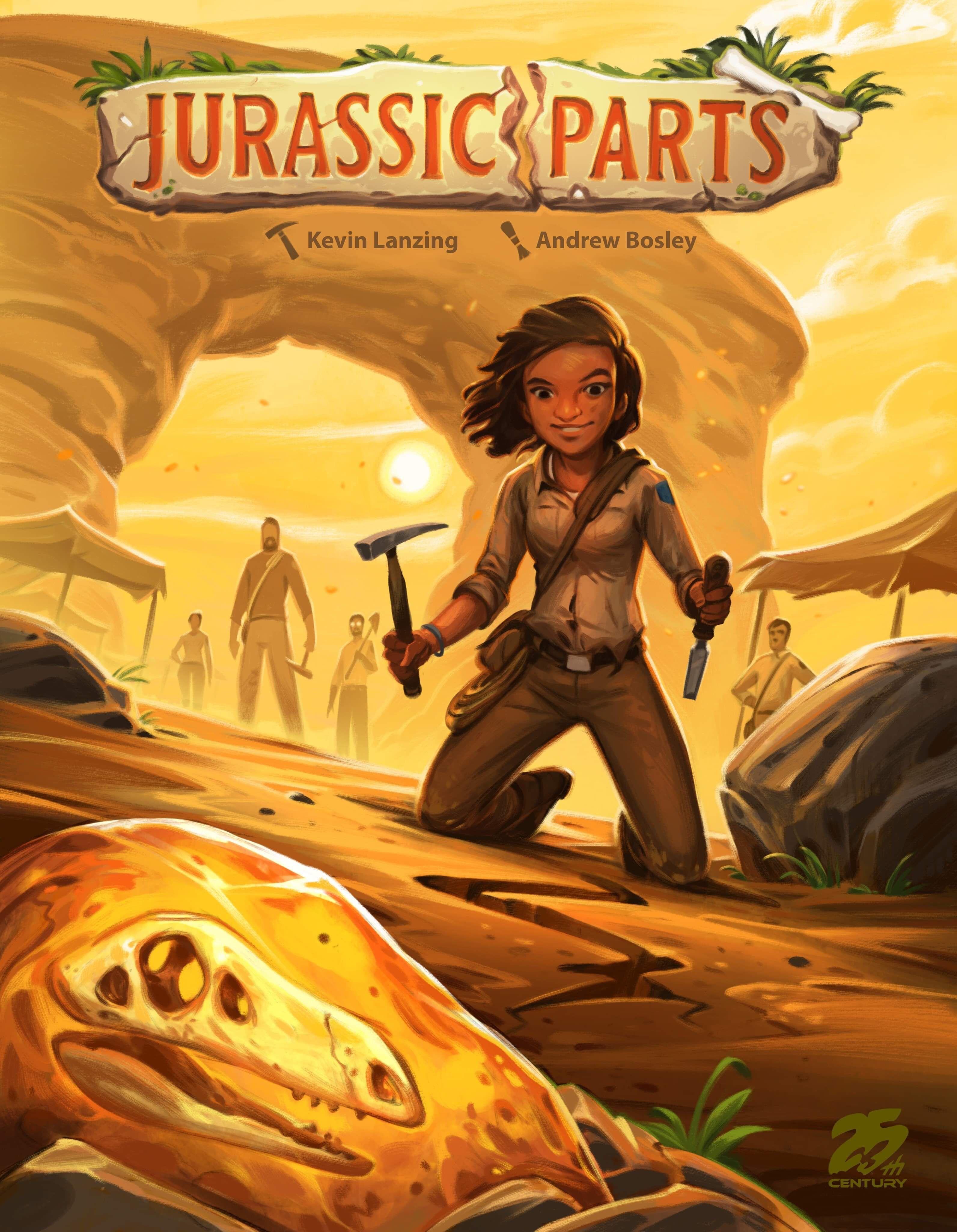 Jurassic Parts 2020 Board Game