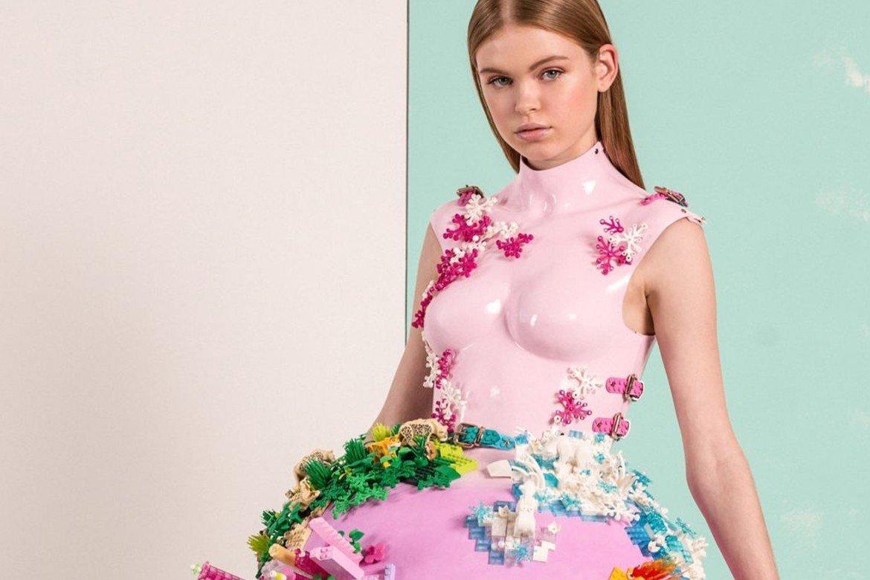 Marina Hoermanseder LEGO-Kleid